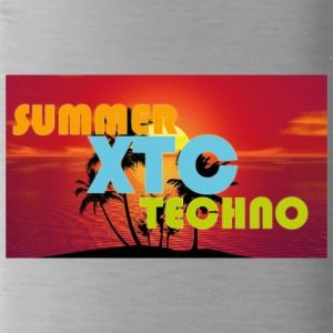 summer xtc techno - Water Bottle