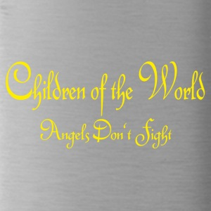 Children of the World - Angels don't fight - Water Bottle