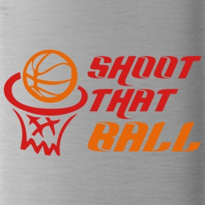 Coach / Trainer: Shoot That Ball - Trinkflasche