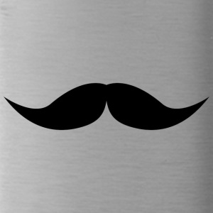 mustache - Water Bottle