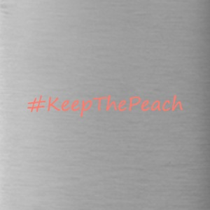 Hashtag KeepThePeach Coral - Trinkflasche