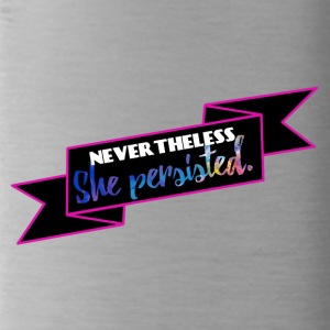 She persisted! - Trinkflasche