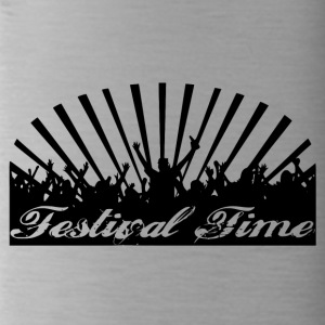 Festival Time Logo - Drinkfles