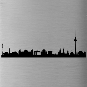 Berlin - silhouette - Water Bottle