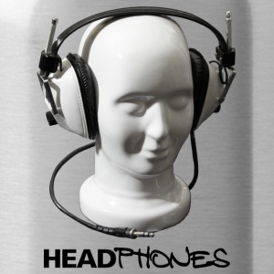 HEADPHONES MUSIC - Water Bottle