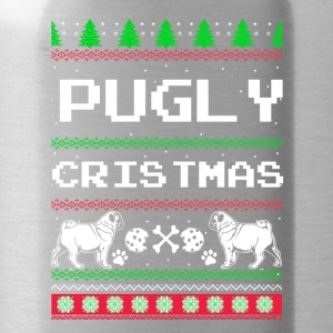 Pugly Christmas - Water Bottle