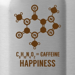 Periodensystem: C8 H10 N4 O2 = Happiness - Trinkflasche
