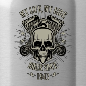 Gift for Biker - Year 1943 - Water Bottle