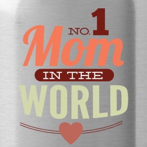 number 1 mom in the world - Water Bottle
