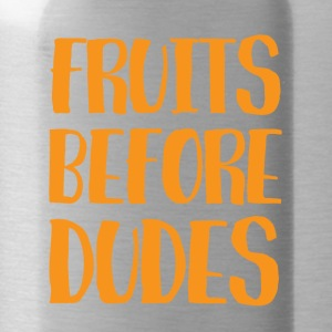 Veggie / Vegan: Fruits Before Dudes - Trinkflasche