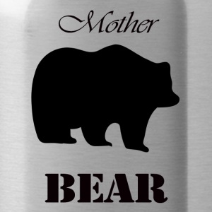 Mother's Day Gift and T-shirt: Mother Bear - Water Bottle
