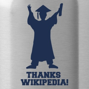 High School / Graduation: Thanks Wiki.pedia! - Water Bottle