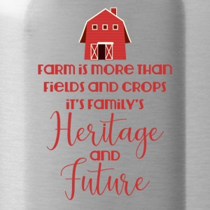 Farmer / Farmer / Farmer: Farm is more than field - Water Bottle
