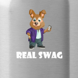 Real Swag dog - Water Bottle