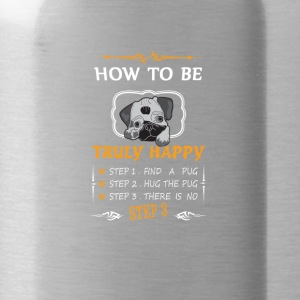 How to be a really happy - Water Bottle