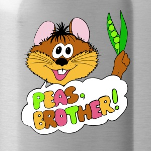 PEAS, BROTHER! - Trinkflasche
