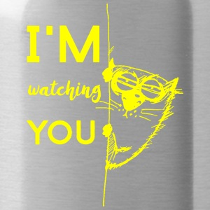 watching you - Trinkflasche