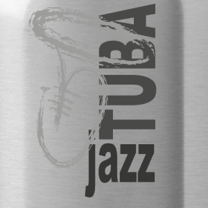 Jazz Tuba - Water Bottle