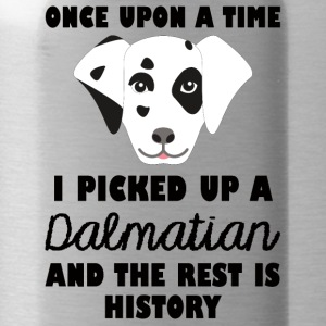 Dog / Dalmatian: Once Upon A Time I Picked Up - Water Bottle
