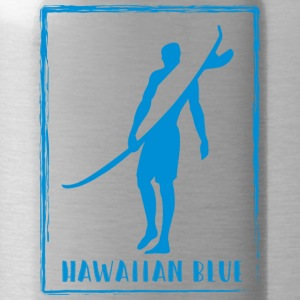 Hawaiian Blue Surfer Logo - Trinkflasche