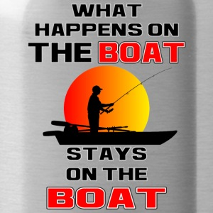 What Happens on the Boat - Water Bottle