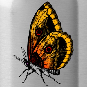 Butterfly - Oranje - Drinkfles
