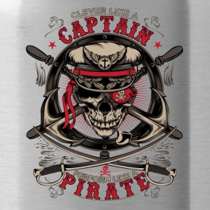 captain pirate - Water Bottle