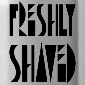 freshly shaved - Trinkflasche