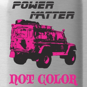 POWER MATTER NOT COLOR - Water Bottle
