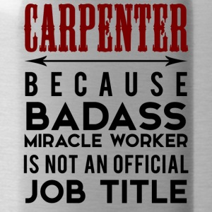 Carpenter: Carpenter, Parce que Badass Miracle - Gourde