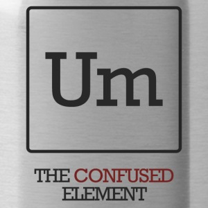 Chemist / chemisch: To - The Confused element - Drinkfles