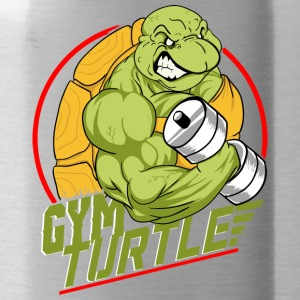 Gym Turtle Gym Design - Trinkflasche