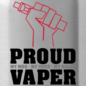 Proud Vaper - My Rules - Water Bottle