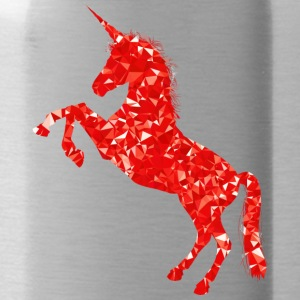 unicorn red - Bidon