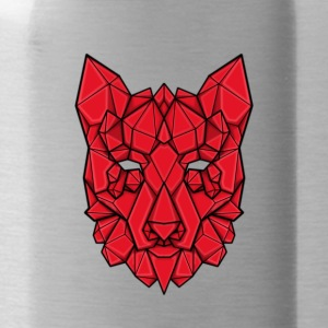 Gem'd wolf - Drinkfles