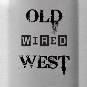 old wired west Black - Borraccia