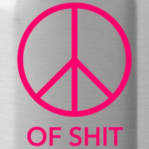 Peace (of shit) pink - Water Bottle