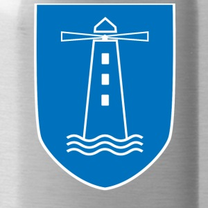 lighthouse coat of arms - Water Bottle