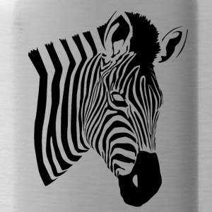 Zebra Patroon 2 - Drinkfles