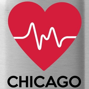 heart Chicago - Water Bottle