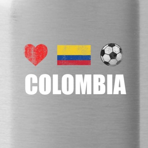 Colombia Colombian Football Soccer T-Shirt - Drikkeflaske