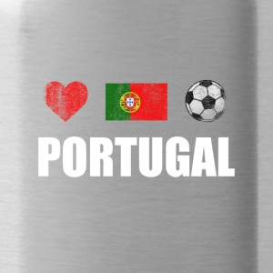 Voetbal Portugal Portugese voetbal T-shirt - Drinkfles