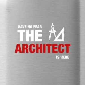 Heb geen angst hier is de Architect - Drinkfles