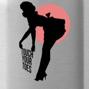 Vintage Girl - Touch Your Toes! - Gourde