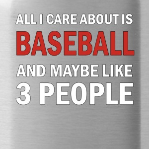 Tutto mi interessa ghiaccio Baseball & Forse 3 Like People - Borraccia