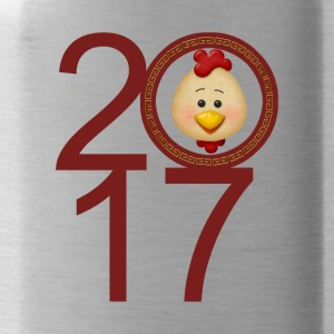 2017 Year of the Rooster - Water Bottle