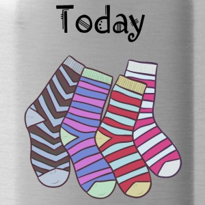 Today Socks! - Trinkflasche