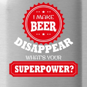 I'll disappear beer - Water Bottle