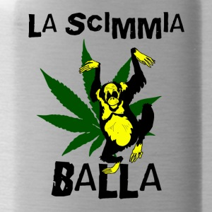 La Scimmia Balla - The Monkey Dances - Borraccia