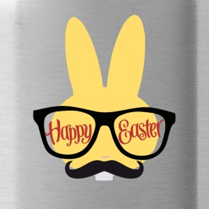 Easter Design with a Hipster Easter bunny - Water Bottle